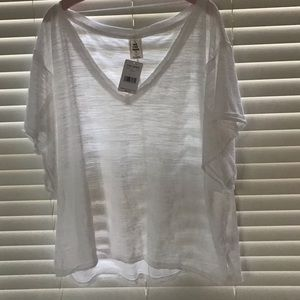 Free People We The Free V Neck Tee